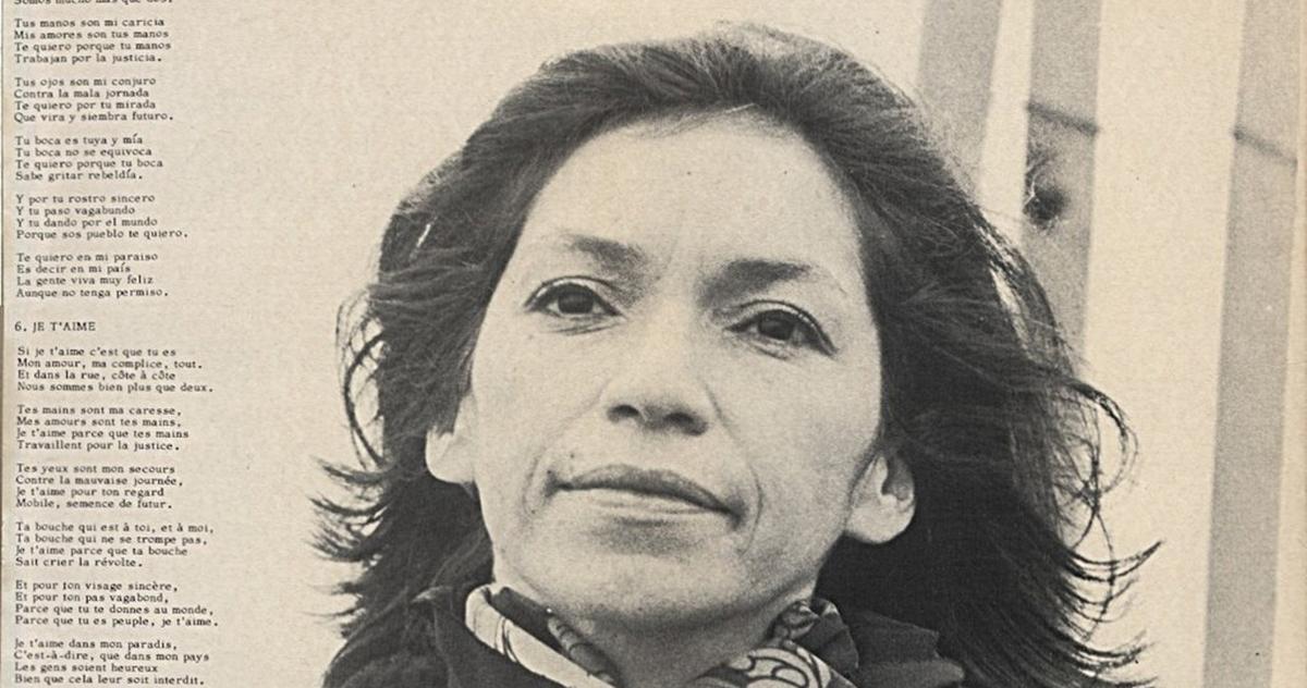 """Isabel Parra recibirá Sello de Excelencia del Folklore en recital """"Violeta por todas partes"""""""